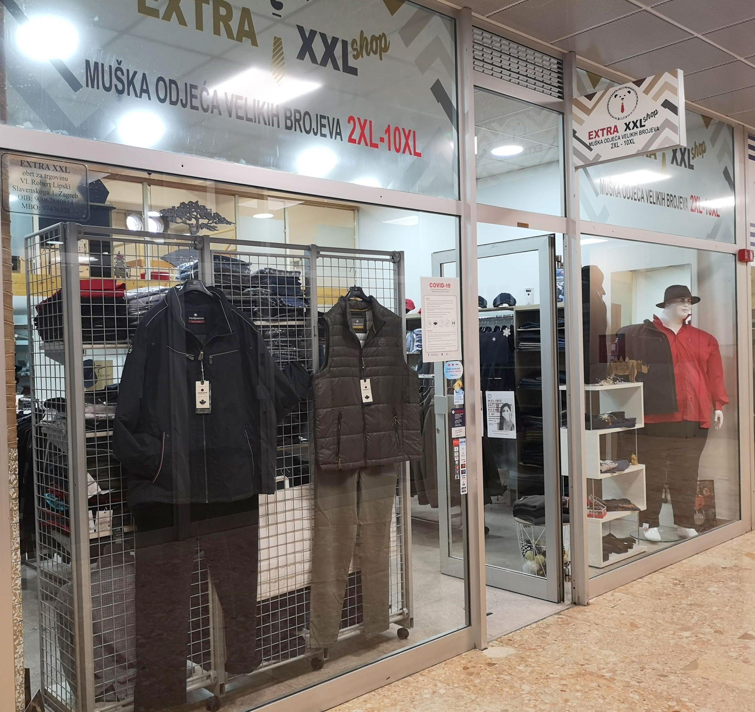 extra xxl shop specijalizirana trgovina za krupnije i punije muškarce
