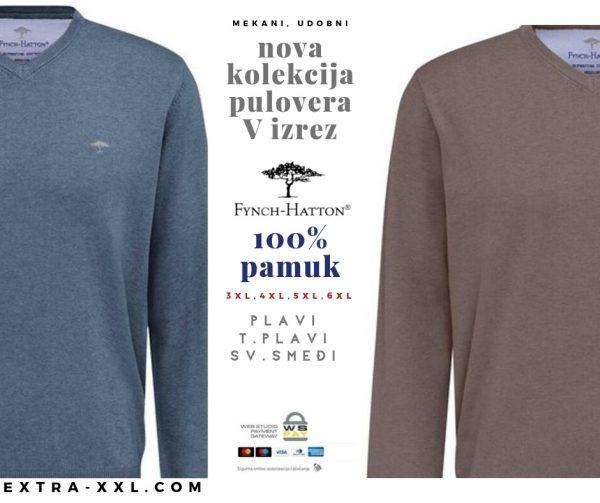 Fynch Hatton puloveri veliki broj u extra xxl shopu