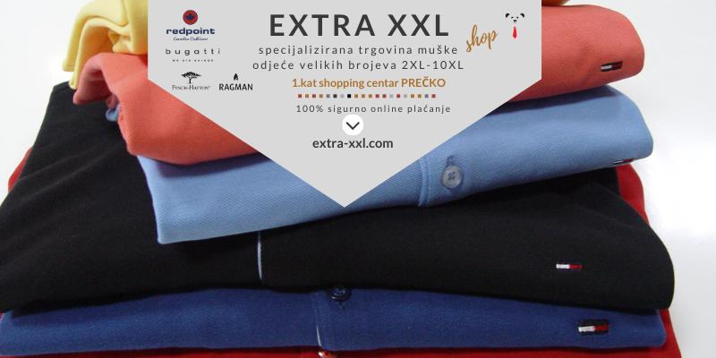 extra xxl shop, specijalizirana trgovina muške odjeće velikih brojeva